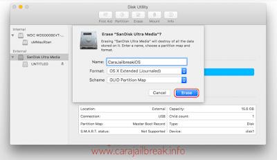 Cara Format HDD & USB Flashdisk di Mac OS X