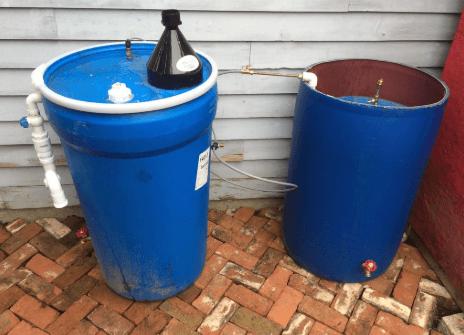 Biogas Digester sederhana