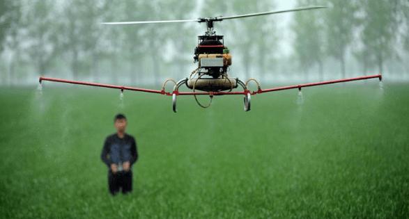 Drone Pestisida sederhana
