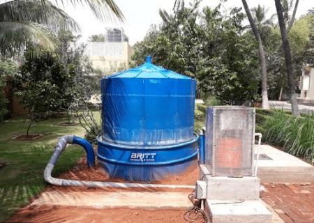 cara biogas digester