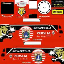 Livery Bus Gue Persija